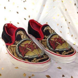 4852da6925 Vans Shoes - Rare Vans Slayer Slip On Shoes